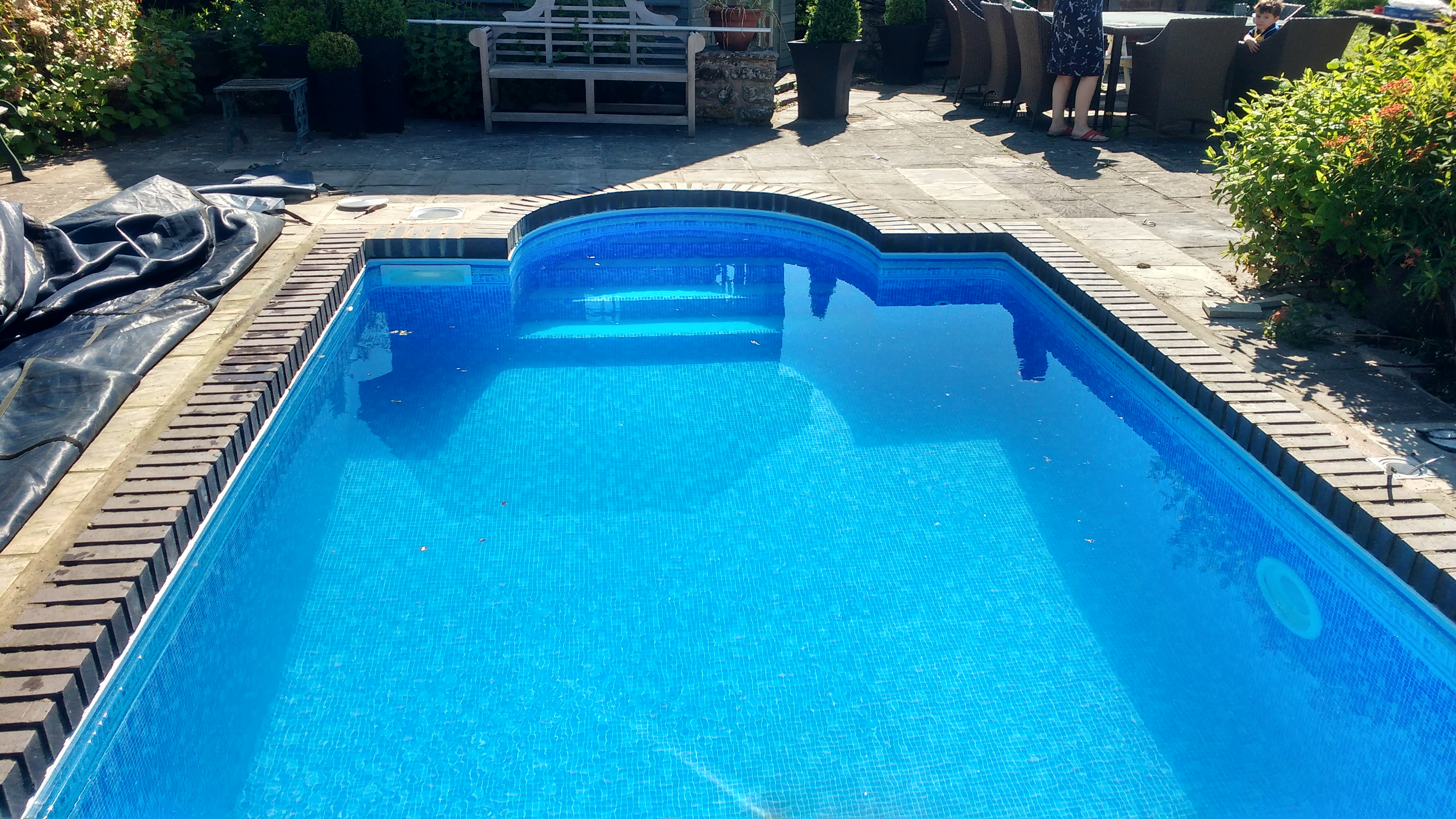 Transform your tired old pool swimming pool solutions for What to do with old swimming pool