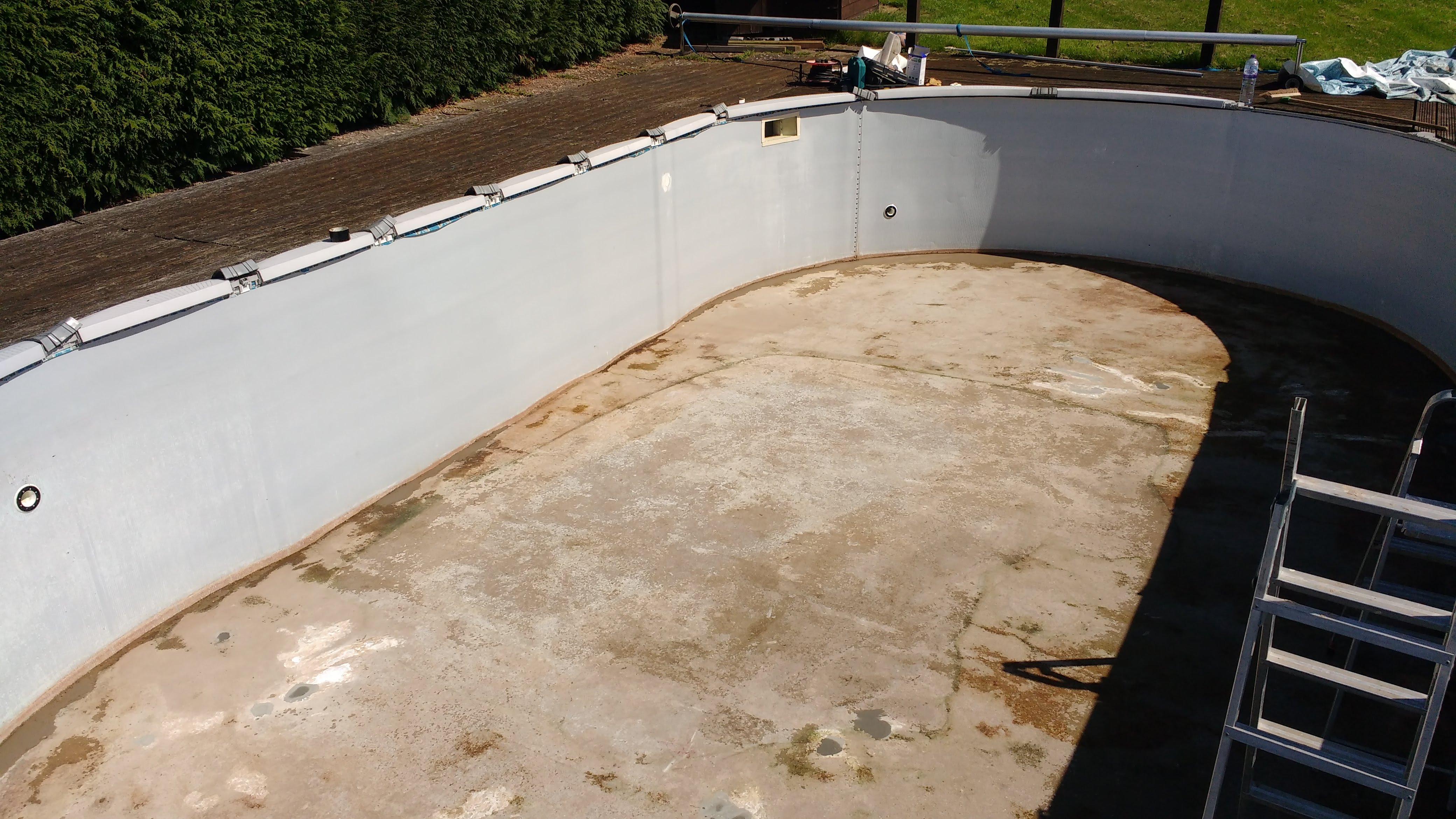 Sunshine Means Liners Swimming Pool Solutions